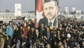 Ομιλία του Ταγίπ Ερντογάν σε καταυλισμό Σύρων προσφύγων.