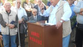 27.09.2015: Ο δημοσιογράφος και συγγραφέας Σπύρος Χατζάρας ήταν ο κεντρικός ομιλητής.
