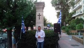 29.07.2020: Χάρης Βασιλείου Μιχαλακόπουλος, δημοτικός σύμβουλος Πύργου.