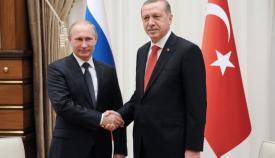 Βλάντιμιρ Πούτιν και Ρετζέπ Ταγίπ Ερντογάν.
