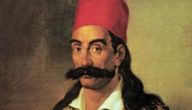 Γεώργιος Καραϊσκάκης (1781-1827), πίνακας του Διονύσιου Τσόκου.