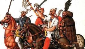 Στίφη Οθωμανών κατέκλυσαν την Ελλάδα υπό τον Γαζή Εβρενός στο τέλος της Βυζαντινής Αυτοκρατορίας.