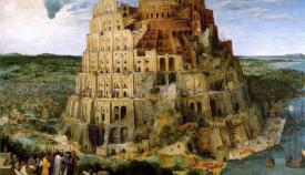 «Ο Πύργος της Βαβέλ» του Πίτερ Μπρύγκελ του Πρεσβύτερου (1525-1569).