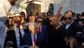 Ο Τούρκος πρωθυπουργός Γιλντιρίμ στην Θράκη.