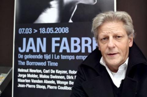 Ο Βέλγος καλλιτέχνης Γιάν Φαμπρ.