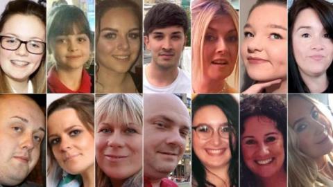 Φωτογραφίες των θυμάτων της ισλαμικής τρομοκρατικής επίθεσης στο Μάντσεστερ.