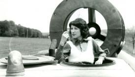 Η Τάρα Βασιλιέσκου, μούσα και πρώτη σύζυγος του Μιρτσέα Ντανελιούκ, στην «Μεγάλη Διαδρομή».