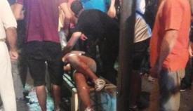Η σοβαρά τραυματισμένη 19χρονη στο Αγρίνιο δέχθηκε φωτοβολίδα στο πρόσωπο!