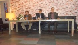 05.03.2018: Κώστας Δημητριάδης, Μάνος Χατζηδάκης και Ιωάννης Κακολύρης στο πάνελ της εκδήλωσης.