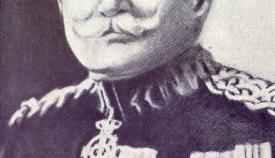 O Αθανάσιος Φράγκου, διοικητής του 1/38 Συντάγματος Ευζώνων.