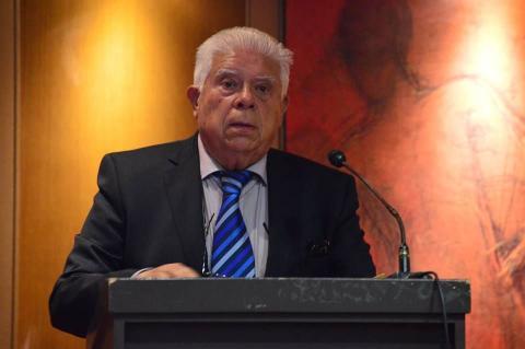 28.06.2017: Ο πρώην υπουργός Αριστείδης Δημόπουλος.